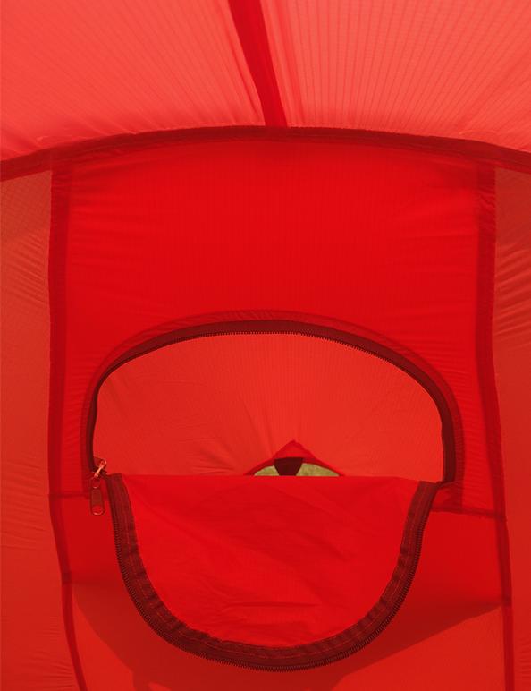 Norra tent inside
