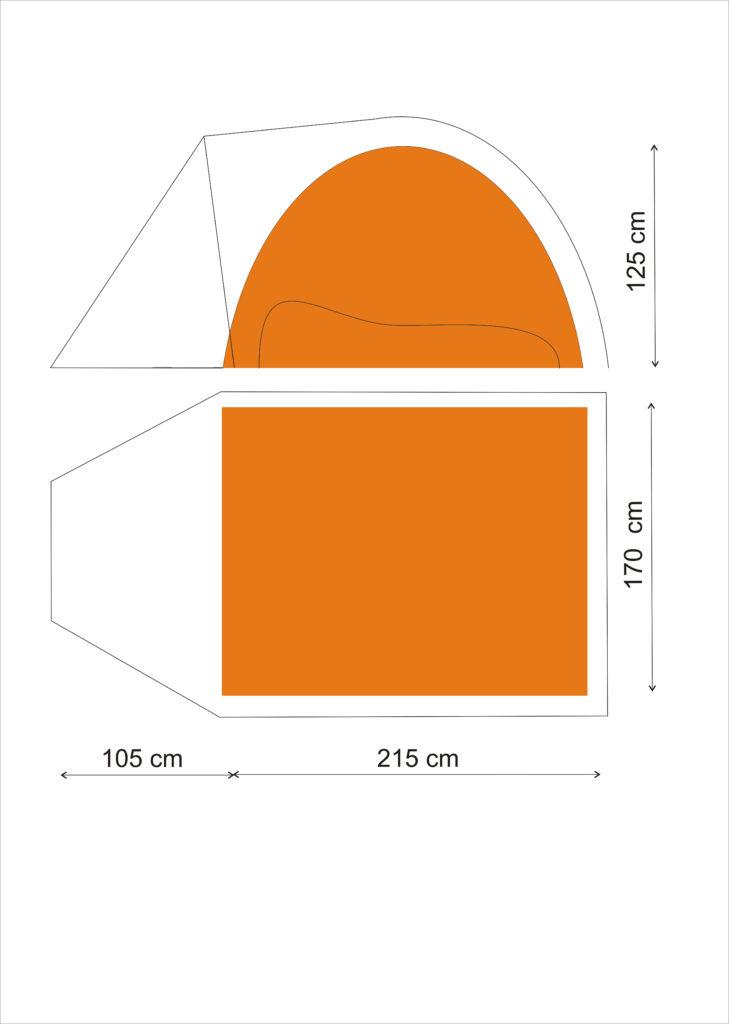 Gipfel Fira 3 footprint