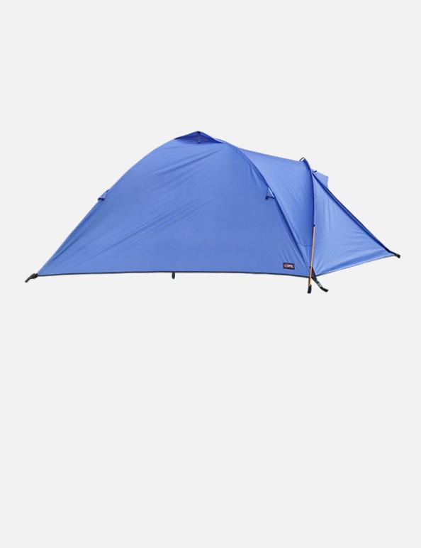 Gipfel Fira tent Blue side view