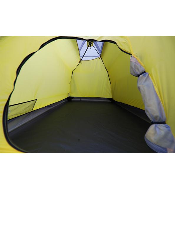 Gipfel Fira 2 inner tent door view