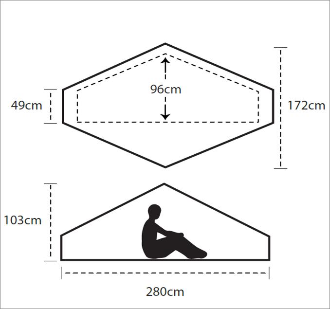 Gipfel Marga one floor plan