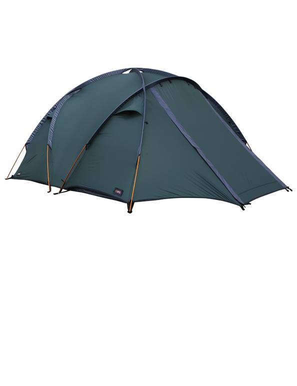 High Mountain 4 tent green shade