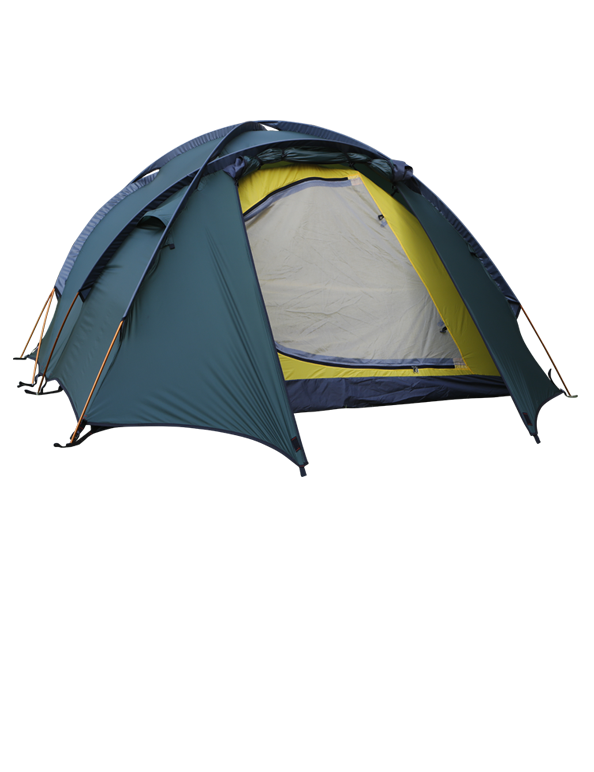 High Mountain 4 tent green